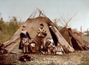 A_Lapp_family,_Norway,_1890s Wikipedia