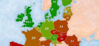 Még mindig az utolsók! – angol nyelvtudás Európában